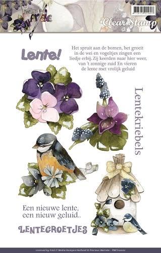 precious Marieke Clear Stamp - Precious Marieke - Voorjaars Collectie 2