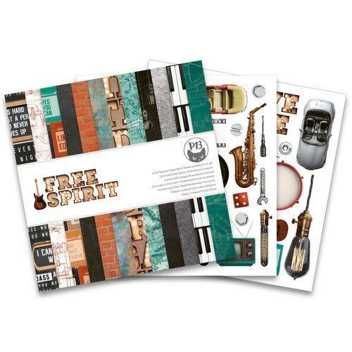 Piatek 13 Piatek13 - Paper pad Free Spirit, 6x6''