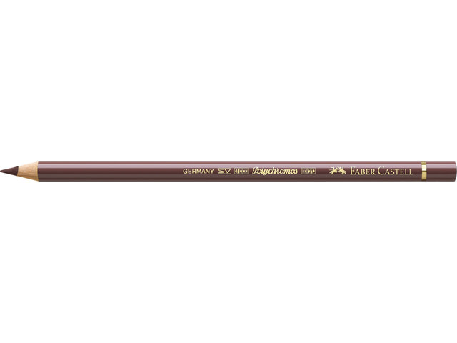 Faber Castell kleurpotlood Faber-Castell Polychromos 176 van Dyck bruin