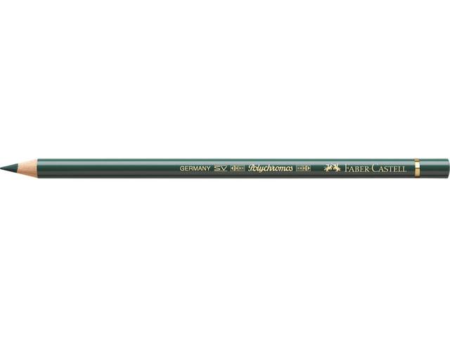 Faber Castell kleurpotlood Faber-Castell Polychromos 165 junipergroen