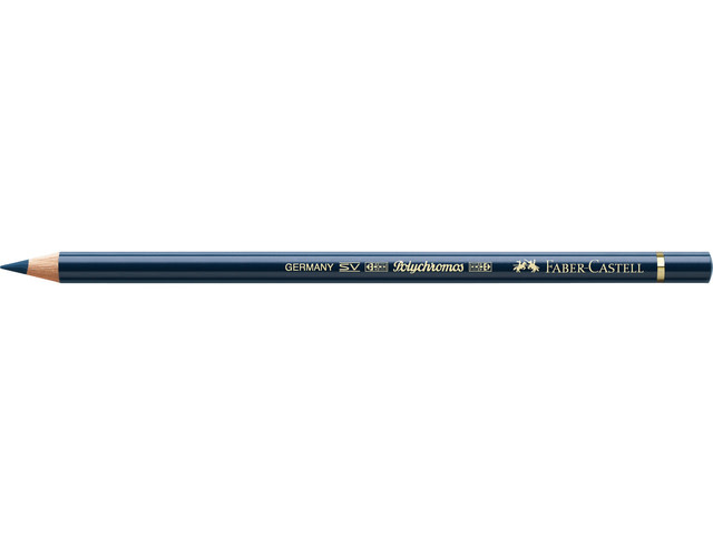 Faber Castell kleurpotlood Faber-Castell Polychromos 157 donker indigo