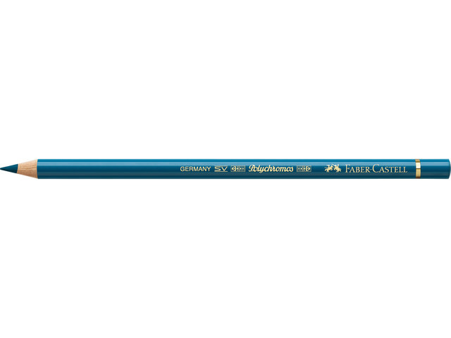 Faber Castell kleurpotlood Faber-Castell Polychromos 155 fluorturquoise