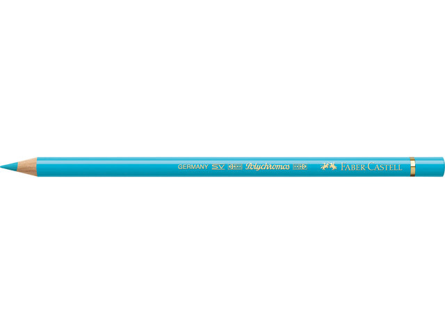 Faber Castell kleurpotlood Faber-Castell Polychromos 154 licht            kobaltturquoise