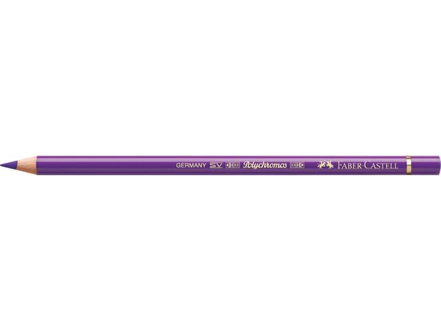 Faber Castell kleurpotlood Faber-Castell Polychromos 136 purperviolet