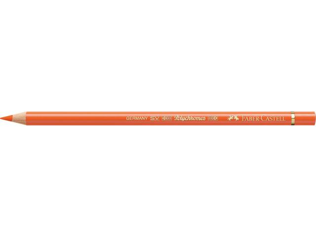 Faber Castell kleurpotlood Faber-Castell Polychromos 113 oranje glanzend