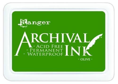 Ranger Ranger Archival Ink pad - olive