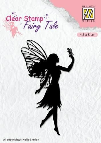 Nellie's choice Nellie's Choice Clearstamp silhouette Fairy Tale Nr 8 FTCS008