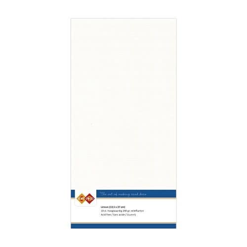 Find it Linnenkarton - Vierkant - Gebroken wit