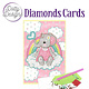 Dotty Designs Dotty Designs Diamonds Cards - Pink Baby Elephant