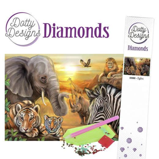 Dotty Designs Dotty Designs Diamonds - Safari