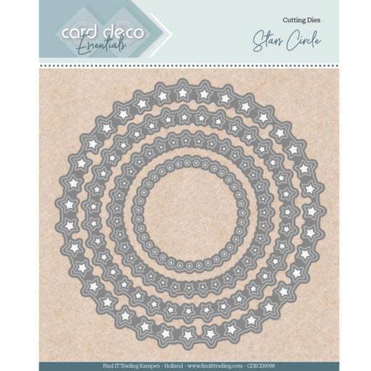 Card deco Card Deco Essentials - Nesting Dies - Stars Circle