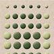 Card deco Card Deco Essentials - Enamel Dots Pearl Yellow Green