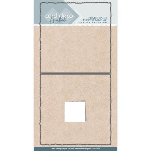 Card deco Card Deco Essentials - Cutting Dies - Photoframe 4K