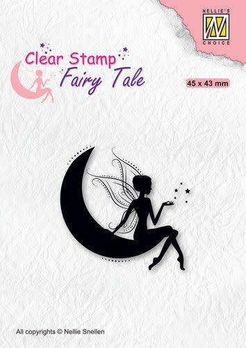 Nellie's choice Nellie's Choice Clearstamp silhouette Fairy Tale FTCS019