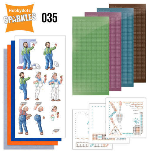 Yvonne creations Sparkles Set 35 - Yvonne Creations - Big Guys - Workers