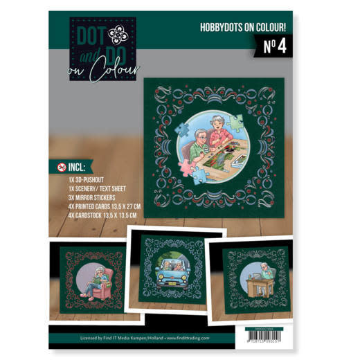 Yvonne creations Dot and Do on Colour 4