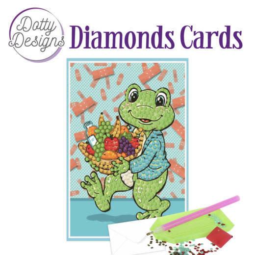 Find it diamond cards frog DDDC1008