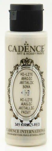 Cadence Cadence Hi-lite Metallic verf Rood