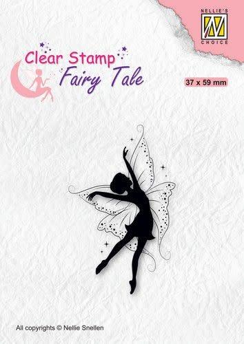 Nellie's choice Nellie's Choice Clearstamp silhouette Fairy Tale FTCS021