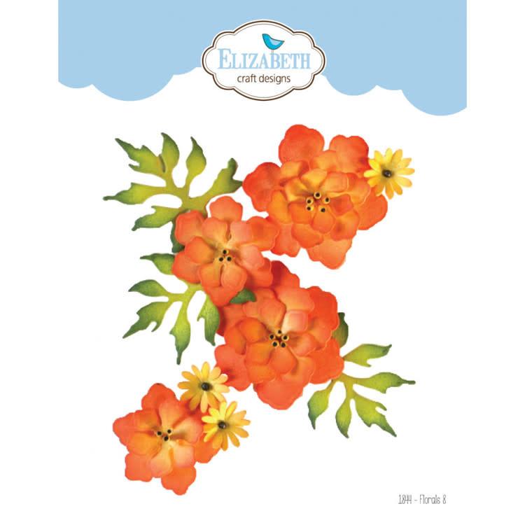 Elisabeth craft design Elizabeth Craft Design - The Paper Flower Collection - Florals 8