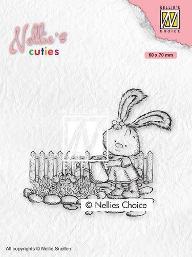 Nellie's choice Nellies Choice Clearstempel - Cuties Lena tuinieren