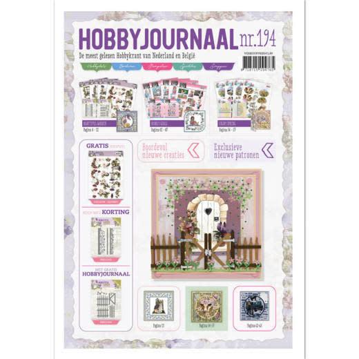 Find it Hobbyjournaal 194 set met die