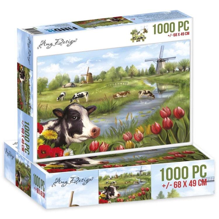 Amy Design Jigsaw puzzel 1000 pc - Amy Design - The Netherlands