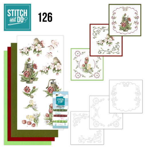 Amy Design Stitch and Do 126 - Spring Delight