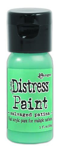 Ranger Ranger Distress Paint Flip Cap Bottle 29ml - Salvaged Patina