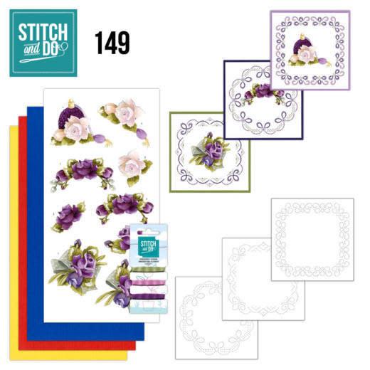 precious Marieke Stitch and Do 149 - Precious Marieke - Romantic Roses