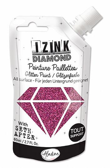Izink IZINK DIAMOND ROZE EGGPLANT 80 ML