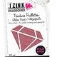 Izink IZINK Diamond glitterverf/pasta 24 karaat- 80 ml, donkerroze