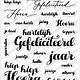 Carlijn Design CarlijnDesign Stempels Elegante Verjaardag