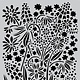 CraftEmotions CraftEmotions Mask stencil summer flowers A5