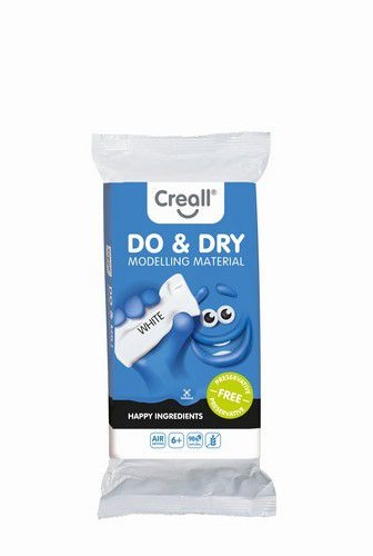 Creall Creall Boetseermateriaal Do&Dry airdrying wit 500gr (1 ST)