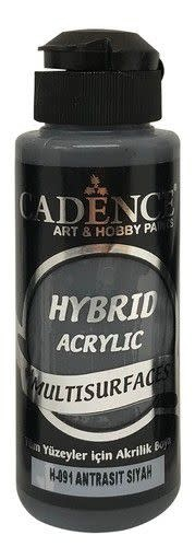 Cadence Cadence Hybride acrylverf (semi mat) Antraciet zwart