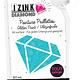 Aladine IZINK Diamond glitterverf/pasta 24 karaat- 80 ml, lichtblauw