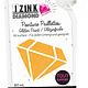 Aladine IZINK Diamond glitterverf/pasta 24 karaat- 80 ml, oranje
