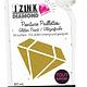 Aladine IZINK Diamond glitterverf/pasta 24 karaat- 80 ml, lichtgoud