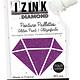 Aladine IZINK Diamond glitterverf/pasta - 80 ml, violet