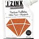 Aladine IZINK Diamond glitterverf/pasta - 80 ml, koper