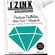 Aladine IZINK Diamond glitterverf/pasta - 80 ml, turquoise
