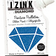 Aladine IZINK Diamond glitterverf/pasta - 80 ml, blauw