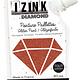 Aladine IZINK Diamond glitterverf/pasta - 80 ml, bruin
