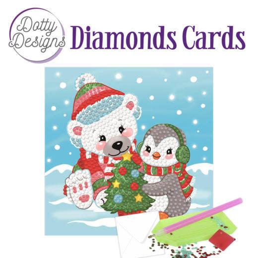 Dotty Designs Dotty Designs Diamonds Cards - Christmas Bear