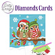 Dotty Designs Dotty Designs Diamonds Cards - Christmas Birds