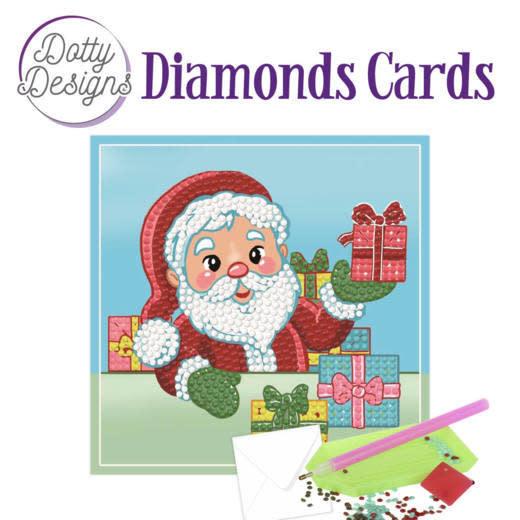 Dotty Designs Dotty Designs Diamonds Cards - Santa