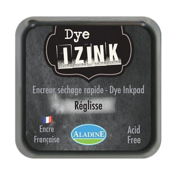 Aladine Inkpad Izink Dye Noir Reglisse (19268)