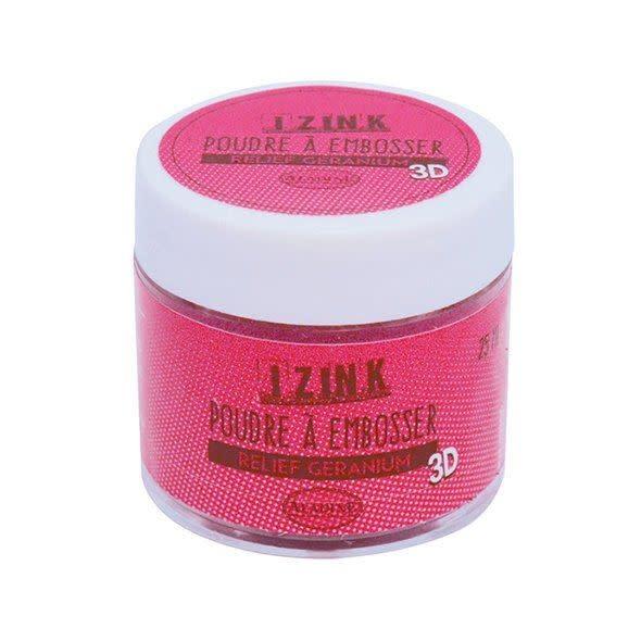 Aladine Embossing Powder 25 ml Geranium (10205)