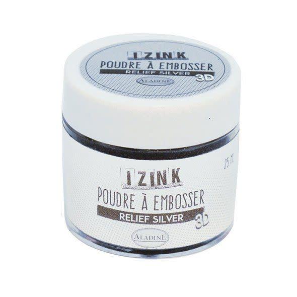Aladine Embossing Powder 25 ml Silver (10192)
